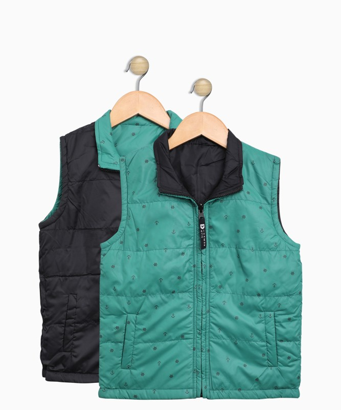 612 League Sleeveless Printed Boys Jacket