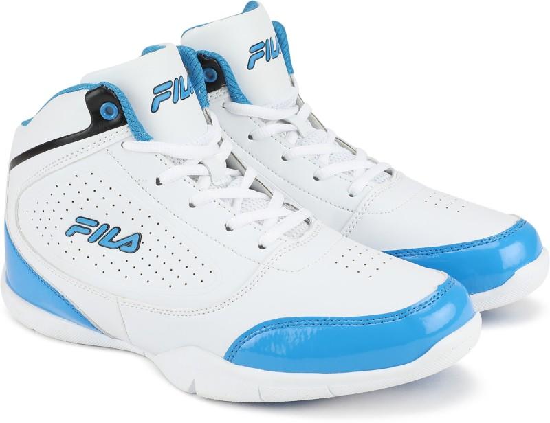 Fila CLIPPER Basketball Shoes For Men(Blue, White)