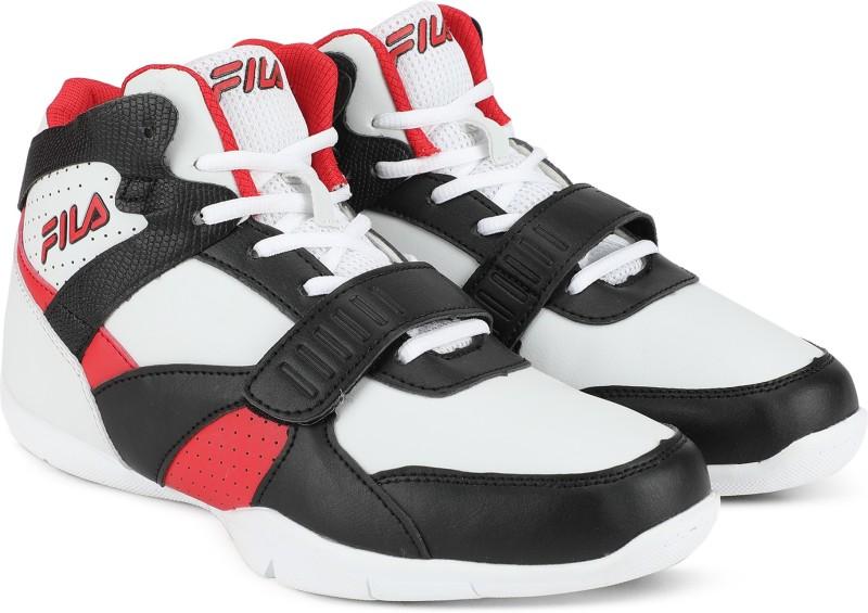 Fila CHALLENGE 2 Basketball Shoes For Men(Black, White)