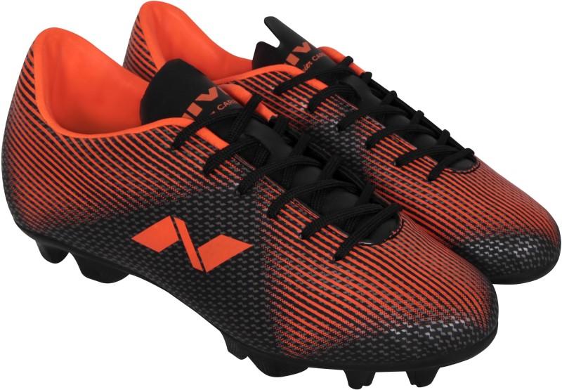 Nivia Premier Carbonite Football Shoes For Men(Black, Brown)