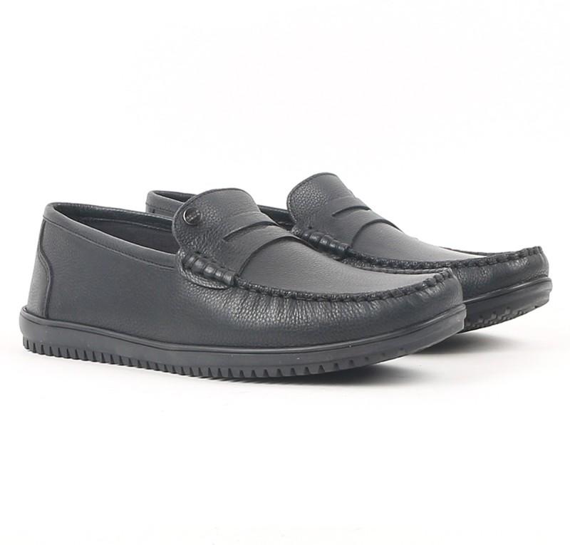 Carlton London Loafers For Men(Black)