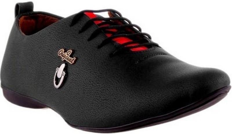 Footista Original Party Wear Shoes For Men(Black)