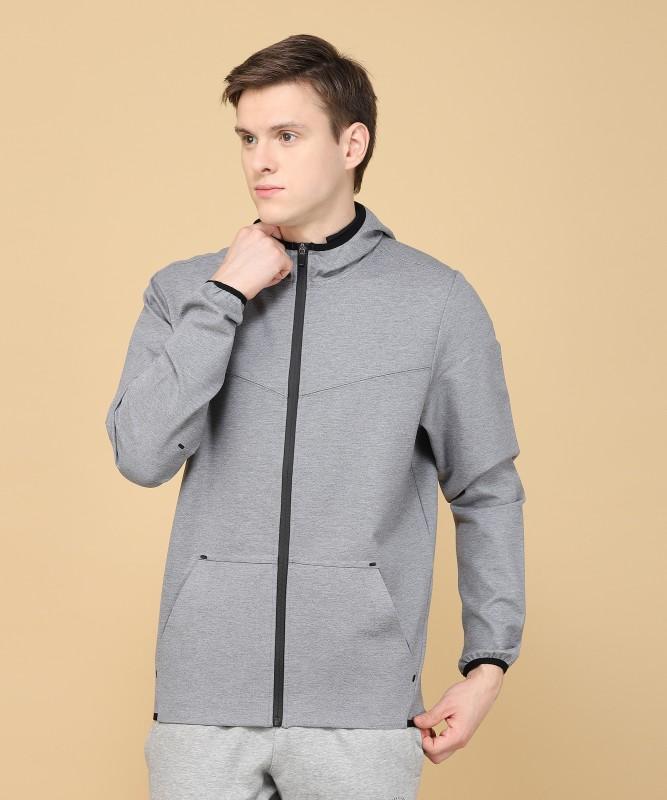 Louis Philippe Full Sleeve Solid Mens Sweatshirt