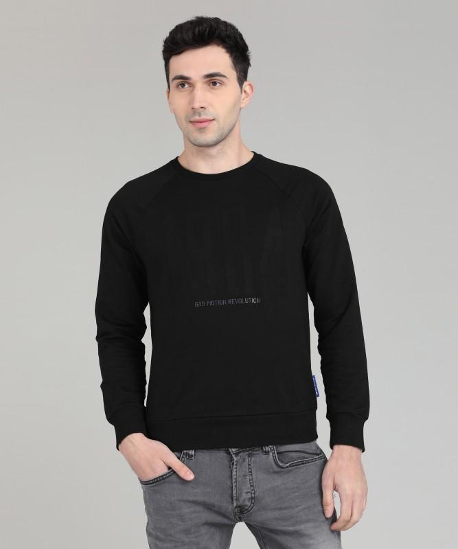 GAS Full Sleeve Applique Men Sweatshirt