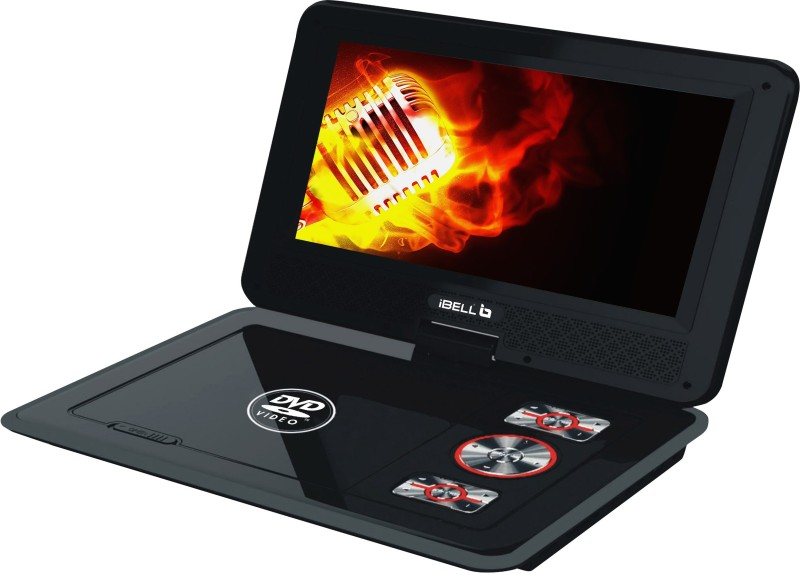 iBELL 9 inch Portable DVD Player 9 DVD Player(Black)