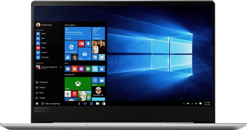 Lenovo Ideapad 720S Core i5 8th Gen - (8 GB/512 GB SSD/Windows 10 Home) 720S-13IKB Thin and Light Laptop(13.3 inch, Platinum, 1.14 kg, With MS Office)