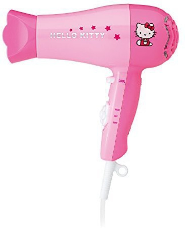 Hello Kitty 2440103 Hair Dryer(1875 W, Pink)