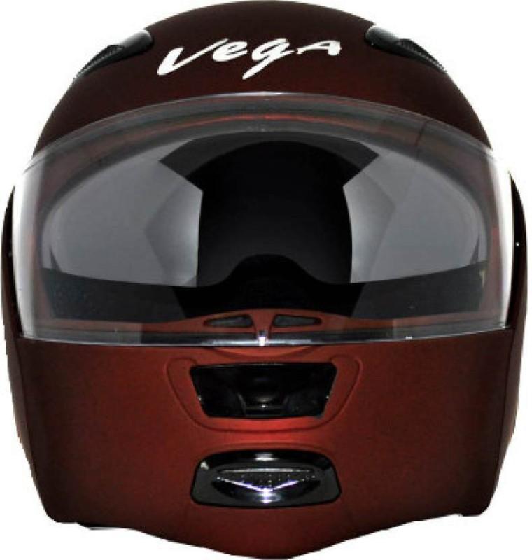 VEGA BOOLEAN Motorsports Helmet(Dull Burgundy)