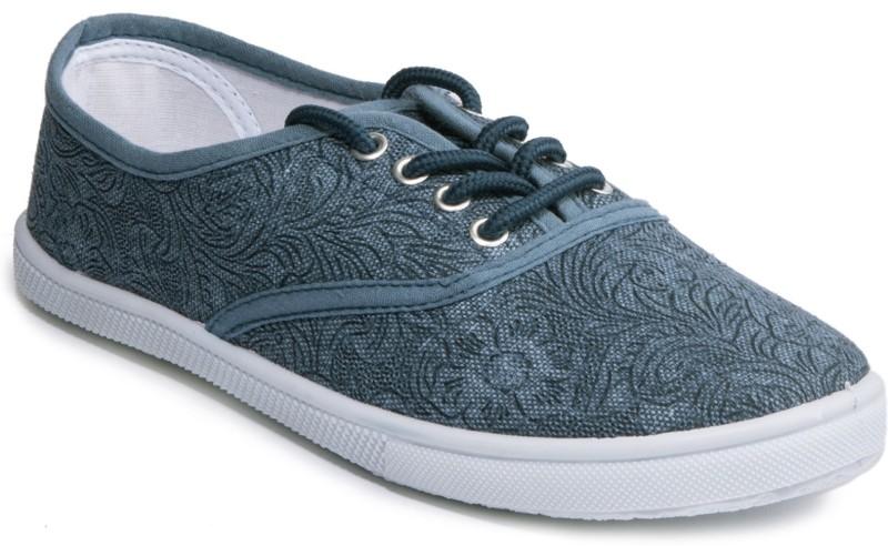 Khadim's Single Padded Sneakers For Women(Blue)