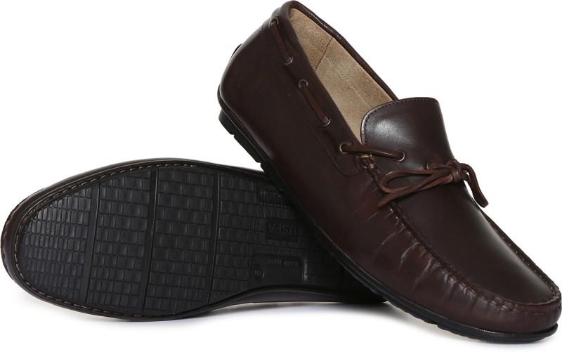 U.S. Polo Assn Loafers For Men(Brown)