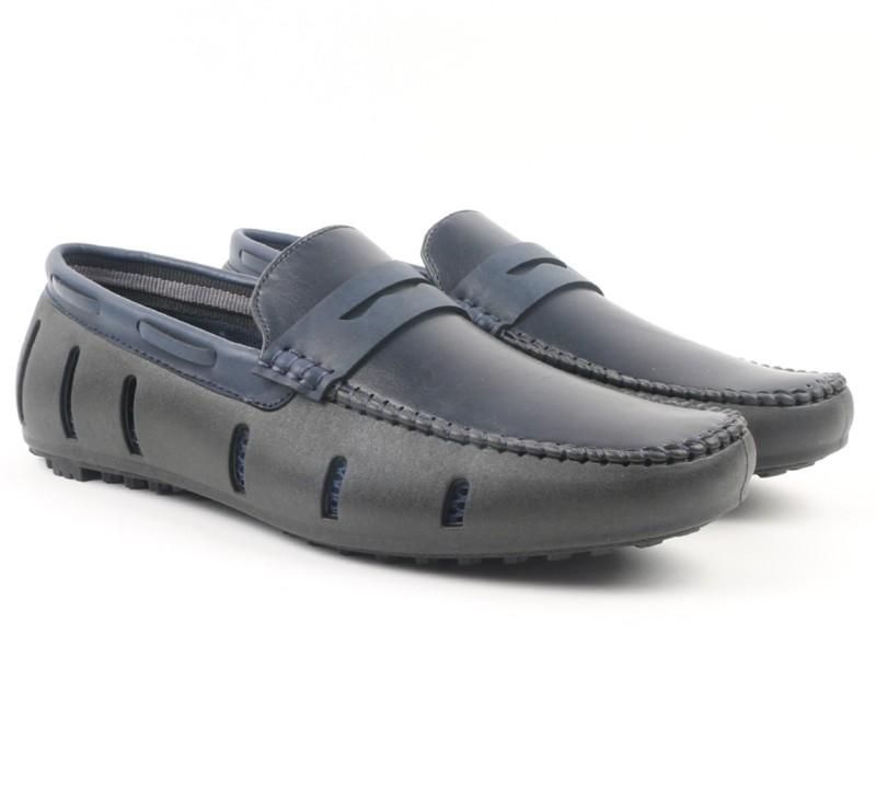 Carlton London Loafers For Men(Blue)