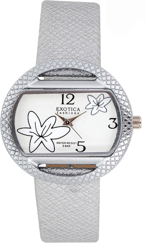 Exotica Fashions EFL-24-White Basic Analog Watch - For Women