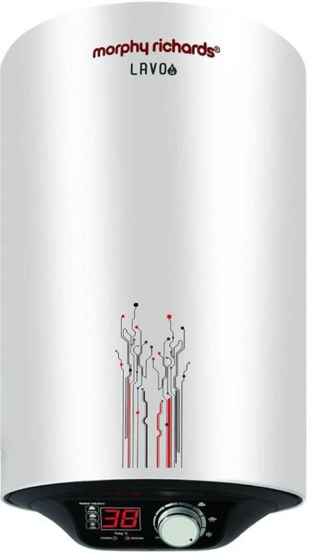 Morphy Richards 10 L Storage Water Geyser(White, Lavo EM Water Heater 10 Ltr)