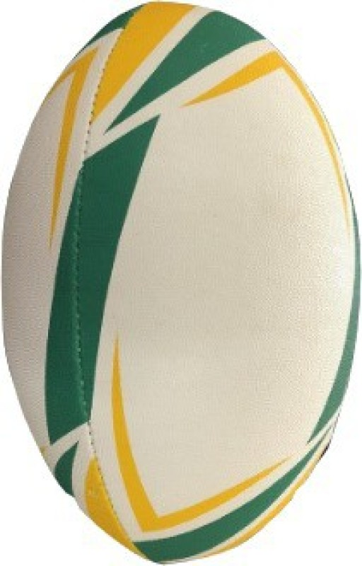 Le Buckle Rugby Ball Size 5 Rugby Ball - Size: 5(Pack of 1, Green)