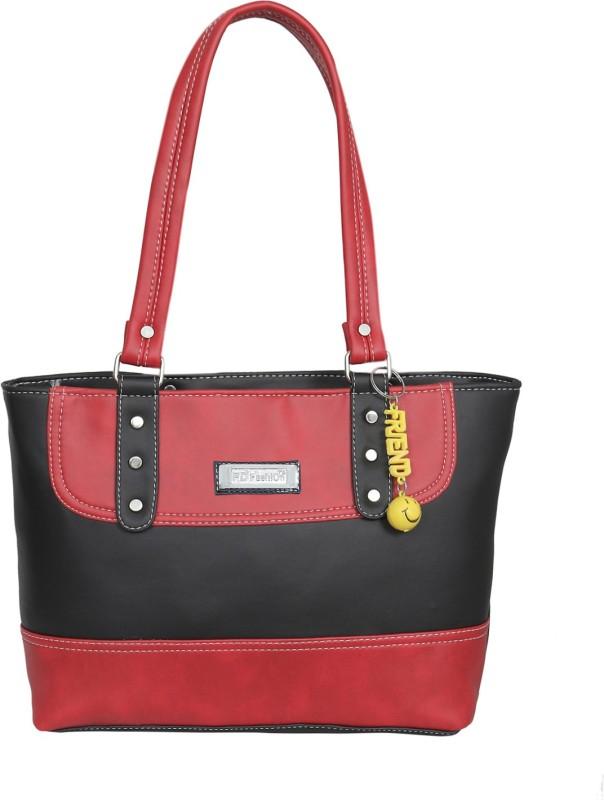 FD Fashion Soft Luggage Women Red, Black Shoulder Bag