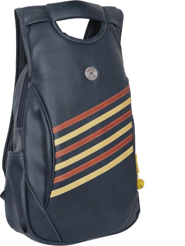 FD fashion Soft Luggage Women Blue Shoulder Bag