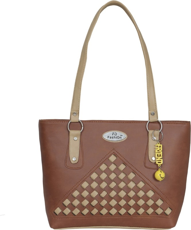 FD Fashion Women Women Tan, Beige Shoulder Bag