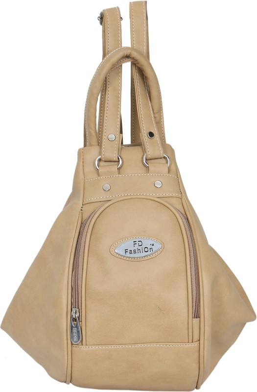 FD Fashion Women Women Beige Shoulder Bag