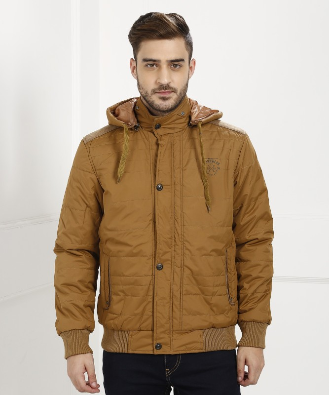 Fort Collins Full Sleeve Solid Mens Jacket