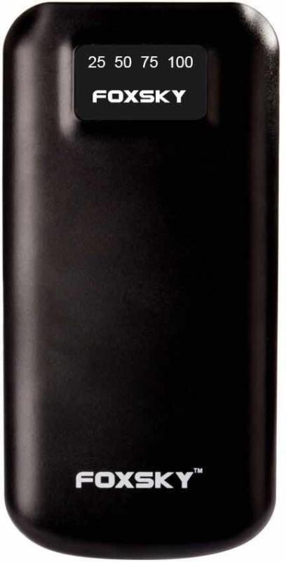 foxsky 10000 mAh Power Bank (FSY10)(Black, Lithium Polymer)