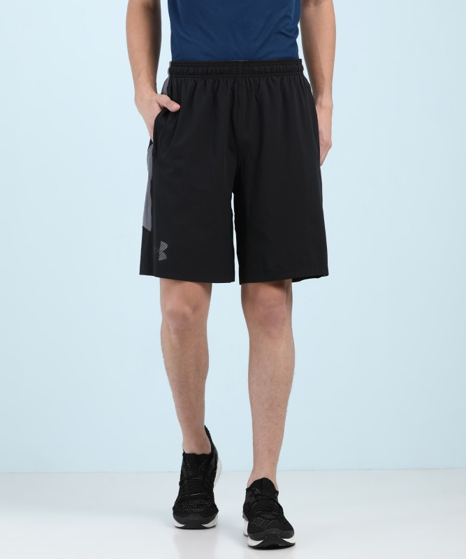 Under Armour Solid Mens Multicolor Sports Shorts