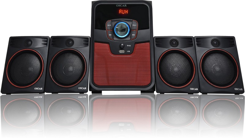 Oscar 4141BT With Digital Display Bluetooth Home Theater System 4.1 Home Cinema(Any Format)