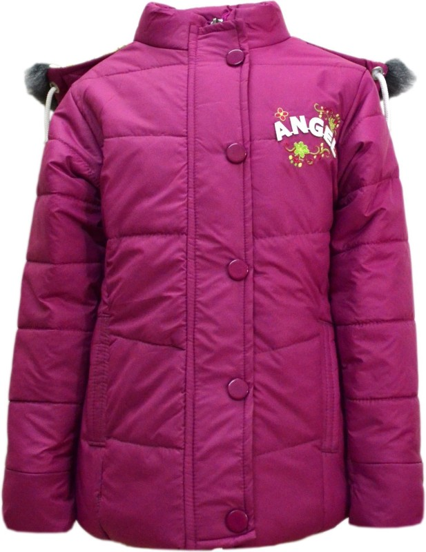Come In Kids Full Sleeve Embroidered Girls Jacket