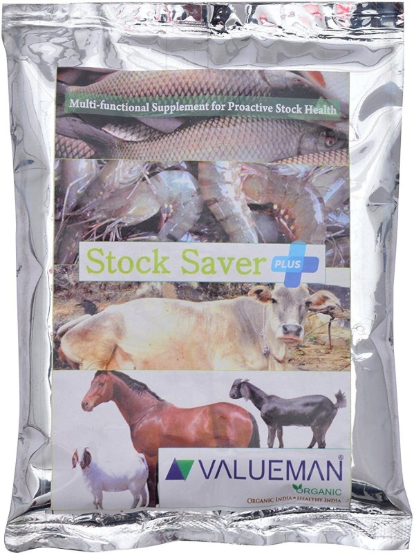 VALUEMAN ORGANIC STOCK SAVER PLUS , FOR COW, DOG, CAT, PET, HORSE, FISHES, 300 g Dry Cow Food(Pack of 300)