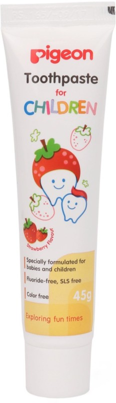 Pigeon Children (Strawberry) Toothpaste(45 g)