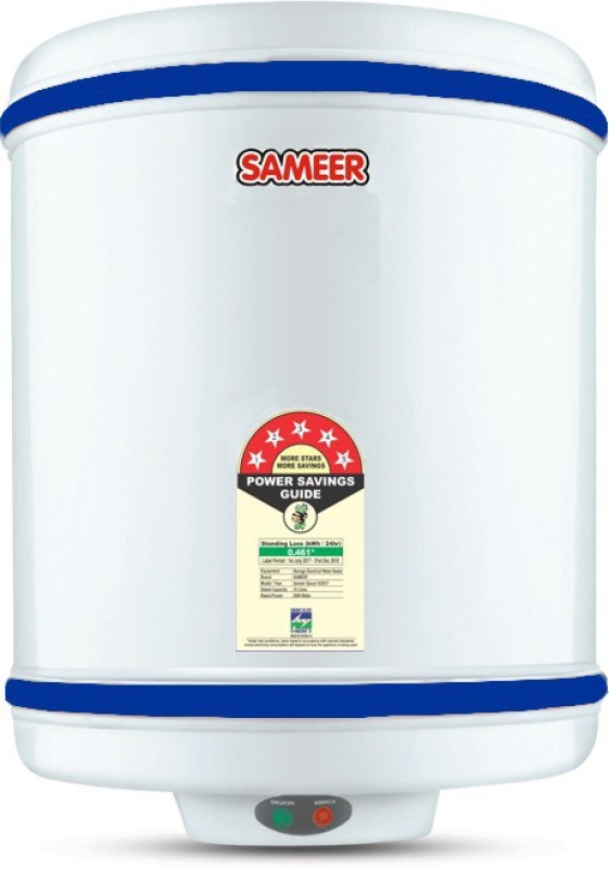 Sameer 15 L Storage Water Geyser (Spring, White)