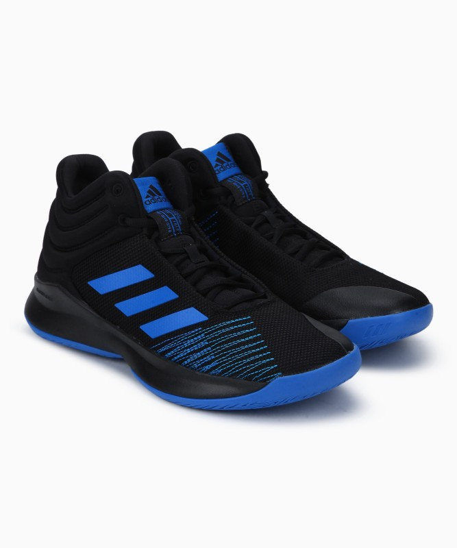 ADIDAS PRO SPARK 2018 Basketball Shoes For Men(Black)