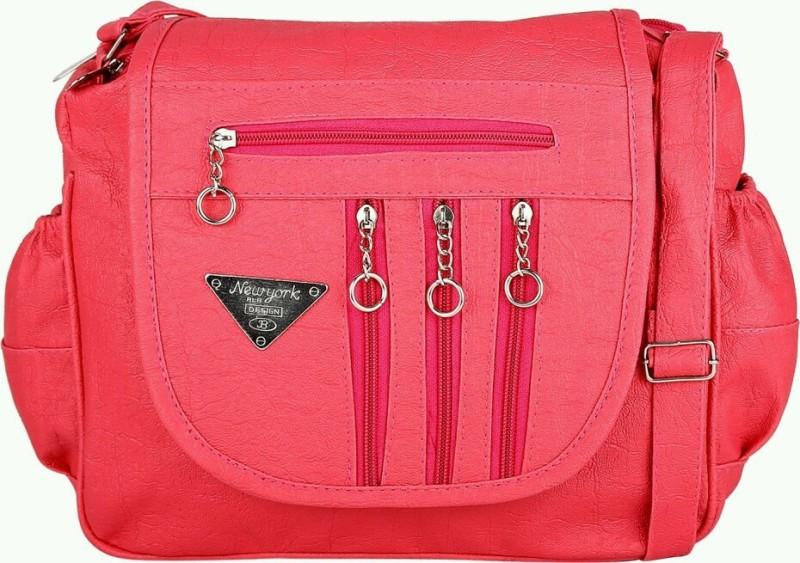 Raju purse collection Pink Sling Bag