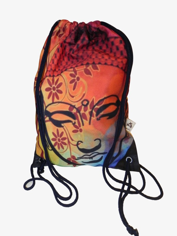 Astara Gautam Buddha Canvas backpack 5 Backpack(Multicolor)