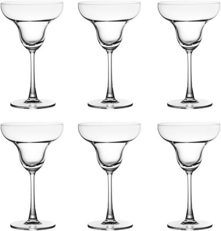 Blinkmax FRENCH STYLE MARTINI AND CHAMPAGNE GLASS SET OF 250 ML (6PCS SET) Glass Set(Glass, 250, Clear, Pack of 6)