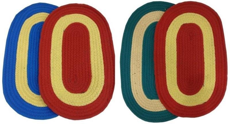 Mayur7star Polyester Door Mat(Multicolor, Medium)