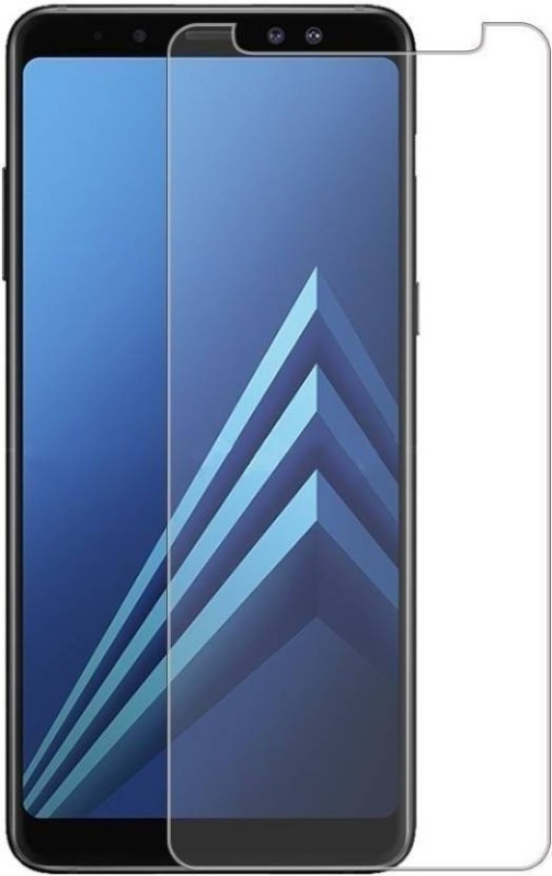 Optegic Tempered Glass Guard for Samsung Galaxy J6 (Blue, 32 GB) (3 GB RAM)(Pack of 1)