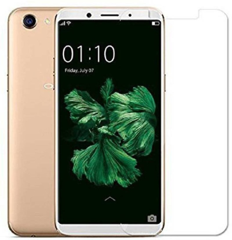 Optegic Tempered Glass Guard for OPPO A83 (Champagne, 32 GB) (3 GB RAM)(Pack of 1)
