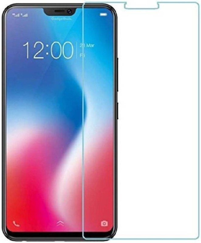 Optegic Tempered Glass Guard for Vivo Y83 (Black, 32 GB) (4 GB RAM)(Pack of 1)