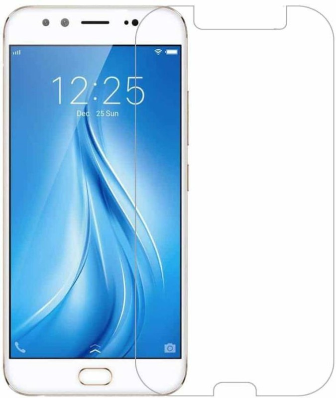 Optegic Tempered Glass Guard for Vivo V5 (Crown gold, 32 GB) (4 GB RAM)(Pack of 1)
