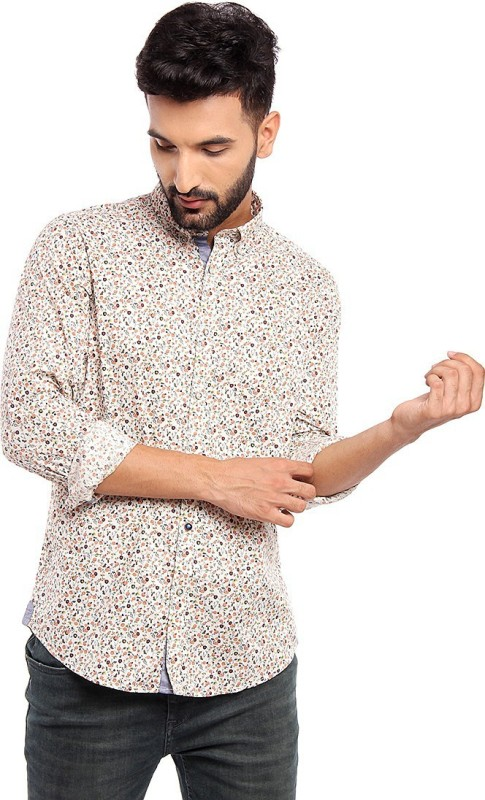Blackberrys Men Printed Casual Multicolor Shirt