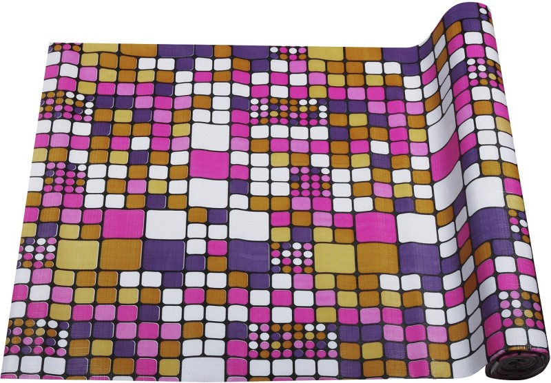 Aradent Rectangular Pack of 1 Table Placemat(Multicolor, PVC (Polyvinyl Chloride))
