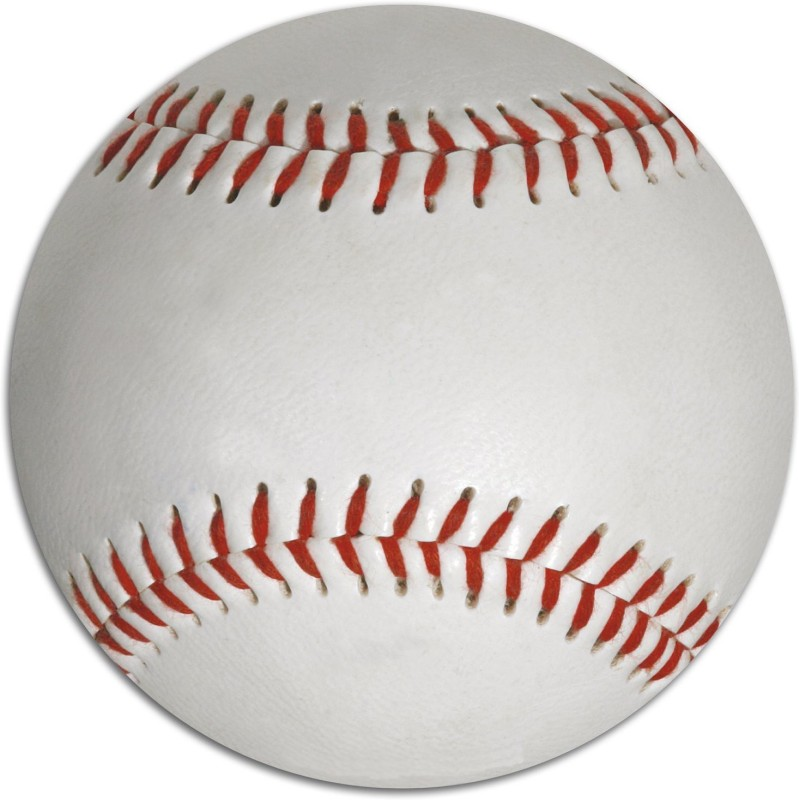 Hard Bodies Club Basbell Official Size (9 Inch) Baseball(Pack of 1, White, Red)