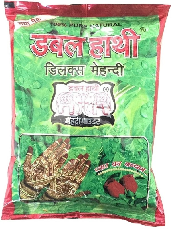 Double Hathi 100 Grams Heena Natural Mehendi(Pack of 1)