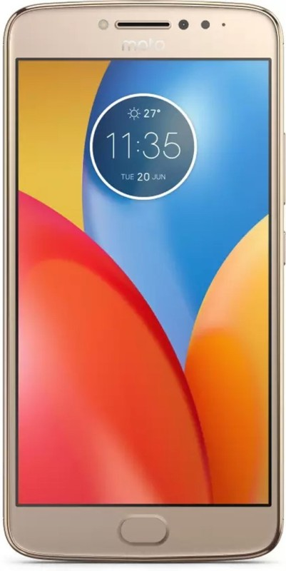 Moto E4 (Blush Gold, 16 GB)(2 GB RAM)