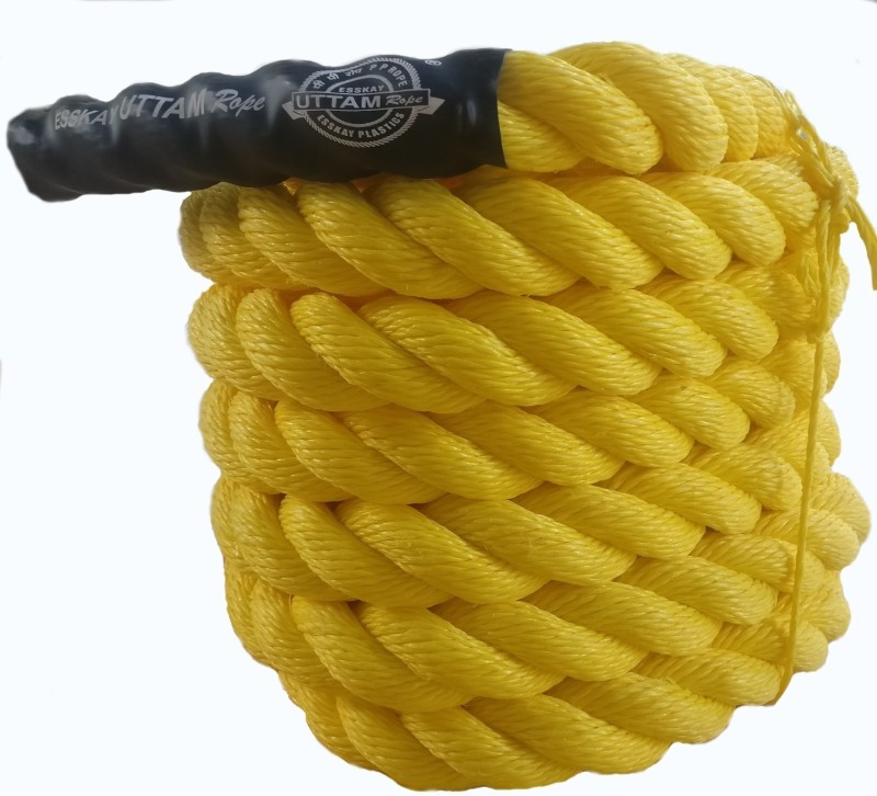 Esskay Uttam BR1530 Battle Rope(Length: 30 ft, Weight: 7 kg, Thickness: 1.5 inch)