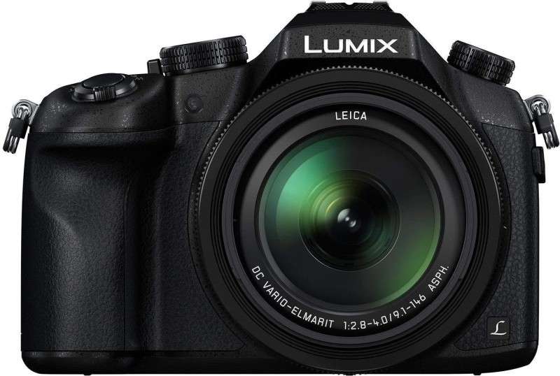 Panasonic FZ1000 DSLR Camera 4K Point and Shoot Camera, 16X, F2.8-4.0 Lens, 21.1 Megapixels, 1 Inch High Sensitivity Sensor(Black)
