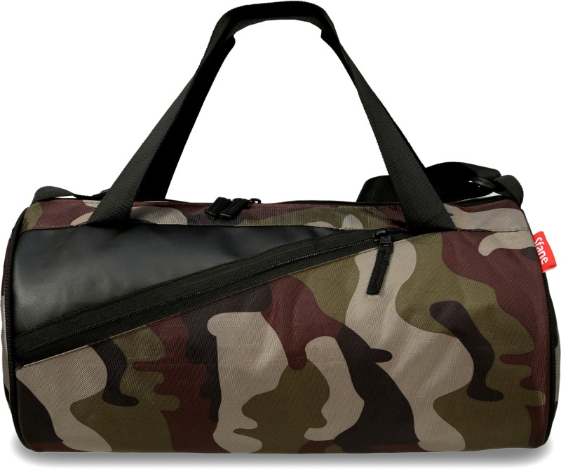sfane Trendy Men & Women Army Print Sports Duffel Gym Bag(Multicolor)