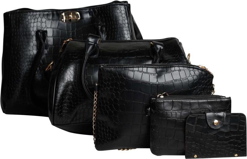 Mei&Ge Women Black Shoulder Bag