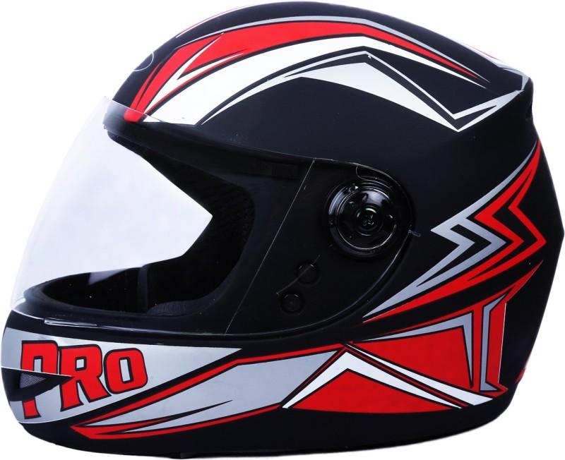 AutoVHPR 02 Pro Full Face ISI Certified Strong Helmet Motorbike Helmet(Black, Orange)