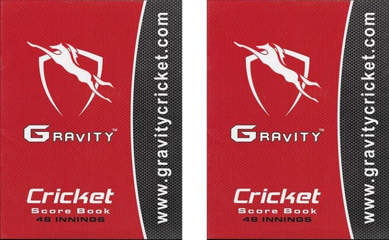 Gravity G-48 Cricket Scorebook(Scores 96 Matches)